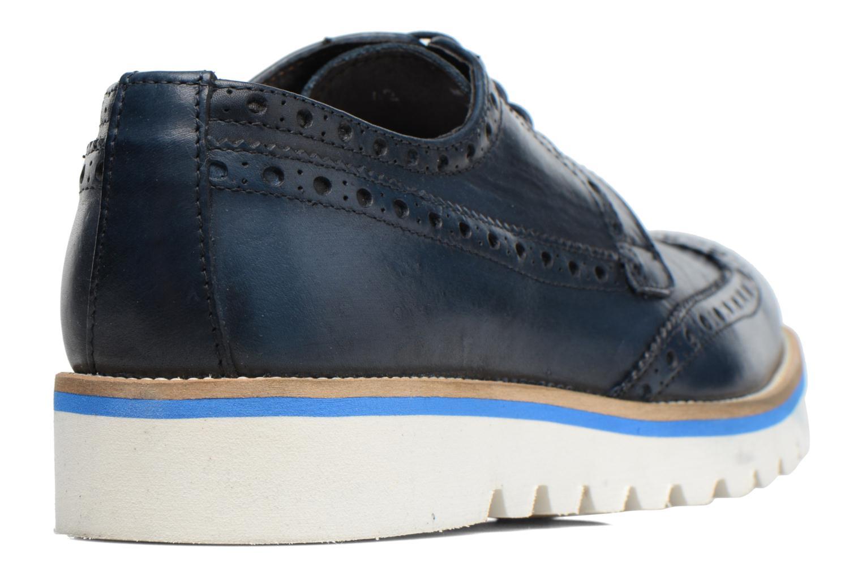 Chaussures à lacets Mr SARENZA Cranbrook Bleu vue face