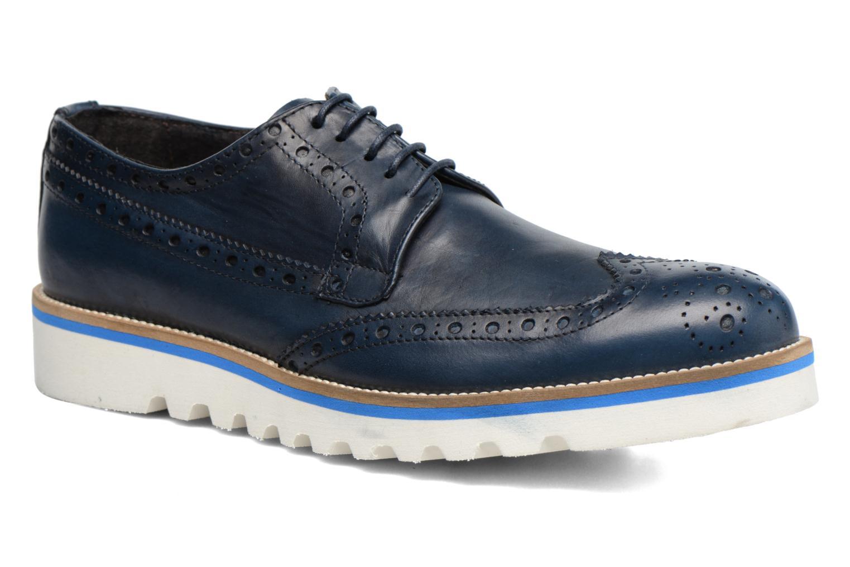 Chaussures à lacets Mr SARENZA Cranbrook Bleu vue droite