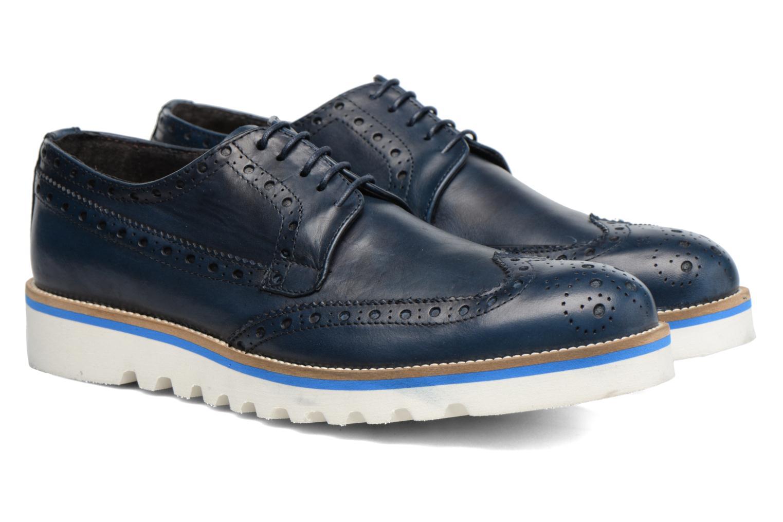 Chaussures à lacets Mr SARENZA Cranbrook Bleu vue derrière
