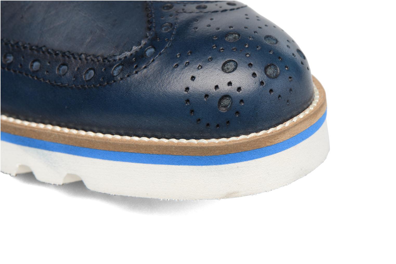 Chaussures à lacets Mr SARENZA Cranbrook Bleu vue gauche
