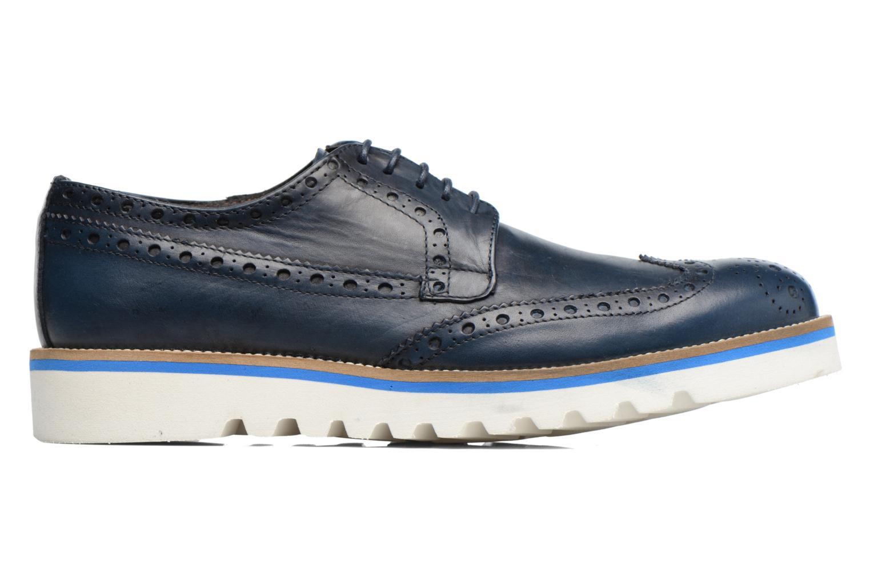 Chaussures à lacets Mr SARENZA Cranbrook Bleu vue détail/paire