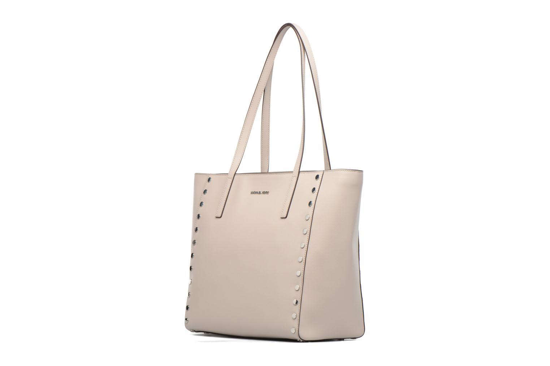 Handbags Michael Michael Kors RIVINGTON LG TOTE Beige model view