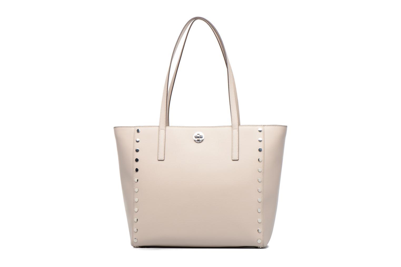Handbags Michael Michael Kors RIVINGTON LG TOTE Beige front view