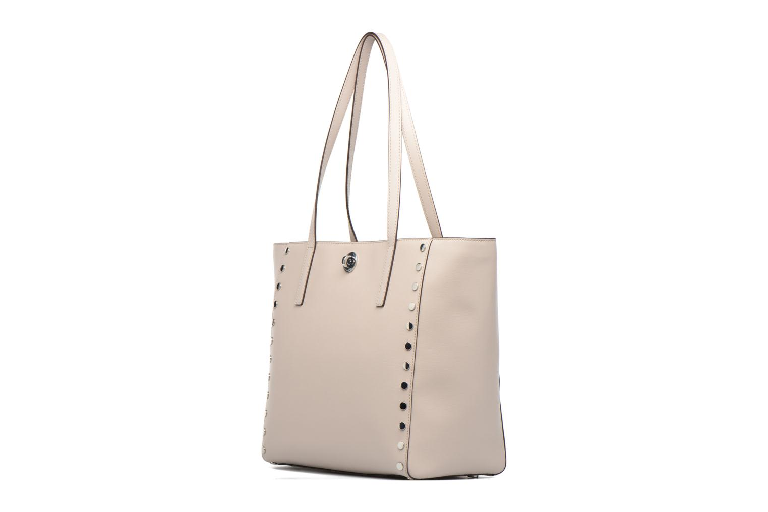 Handbags Michael Michael Kors RIVINGTON LG TOTE Beige view from the right