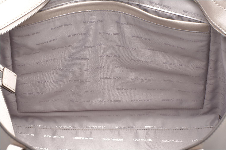 Handbags Michael Michael Kors RIVINGTON LG TOTE Beige back view