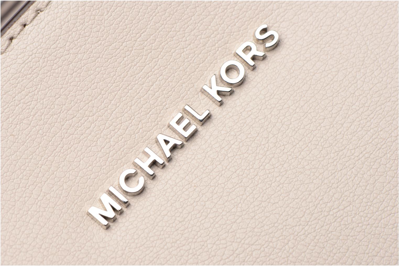 Bolsos de mano Michael Michael Kors RIVINGTON LG TOTE Beige vista lateral izquierda