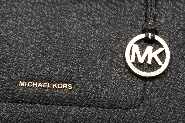 Handtassen Michael Michael Kors WALSH LG EW TZ TOTE Zwart links