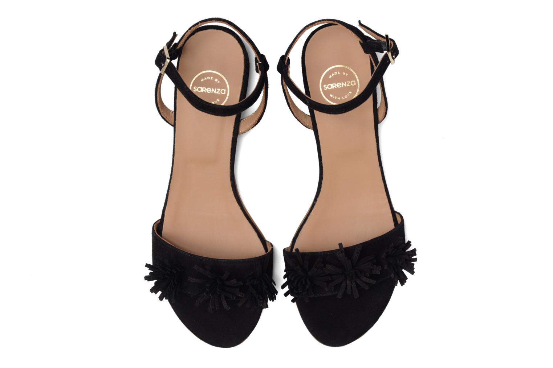 Sandales et nu-pieds Made by SARENZA Frida Banana #16 Noir vue portées chaussures
