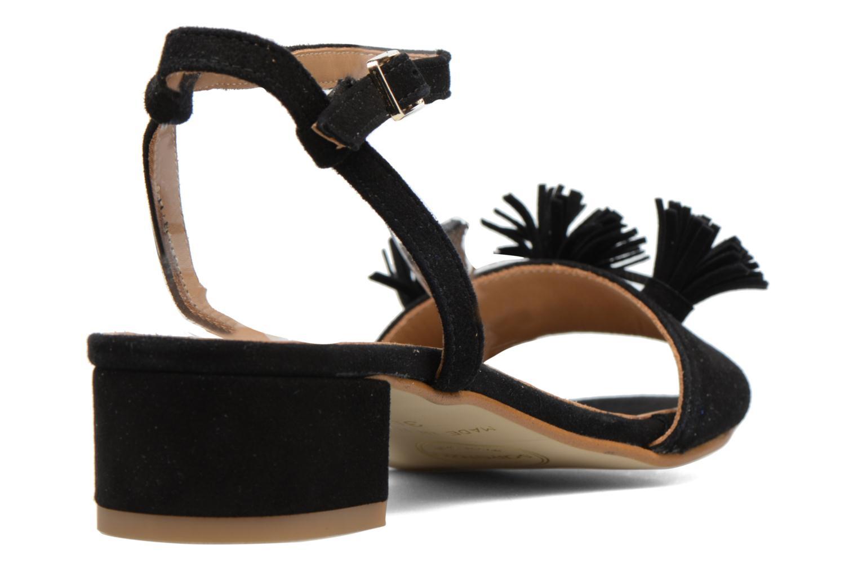 Sandales et nu-pieds Made by SARENZA Frida Banana #16 Noir vue face