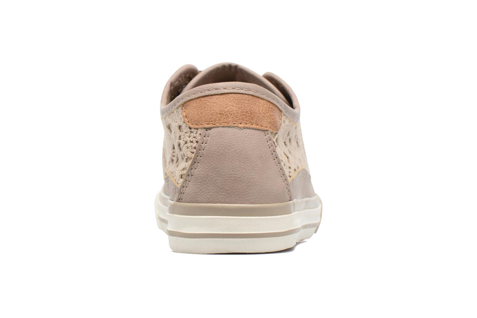 Baskets Mustang shoes Smith N Beige vue droite