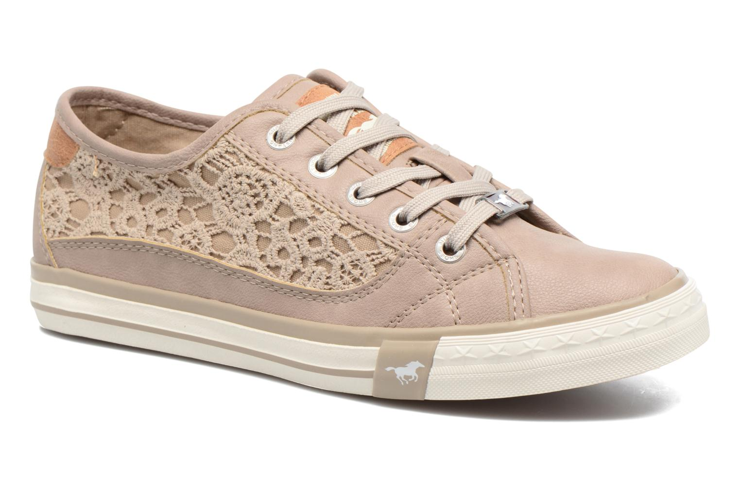 Sneaker Mustang shoes Smith N beige detaillierte ansicht/modell