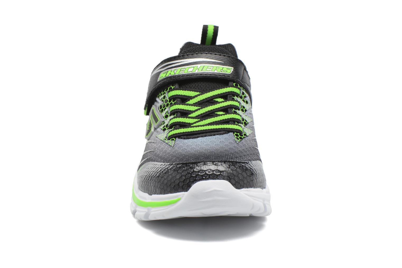 Baskets Skechers Nitrate Pulsar Gris vue portées chaussures