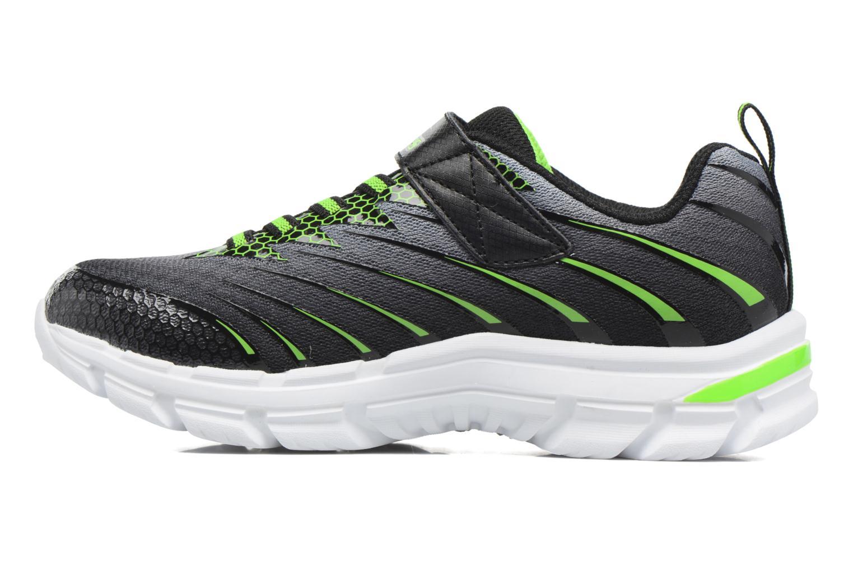 Sneaker Skechers Nitrate Pulsar grau ansicht von vorne