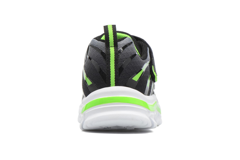 Sneaker Skechers Nitrate Pulsar grau ansicht von rechts
