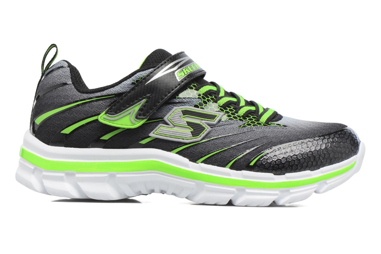 Sneaker Skechers Nitrate Pulsar grau ansicht von hinten