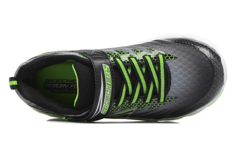 Sneaker Skechers Nitrate Pulsar grau ansicht von links