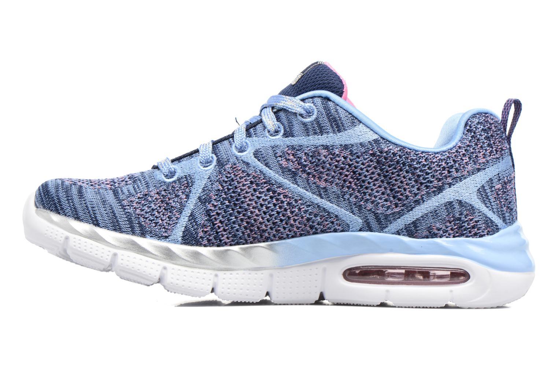 Sneaker Skechers Air-Appeal Glitztastic blau ansicht von vorne