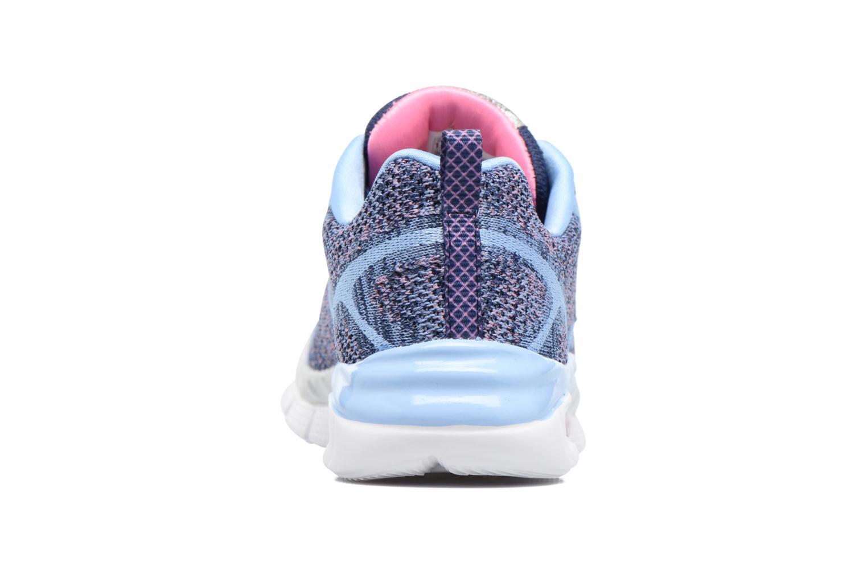 Sneaker Skechers Air-Appeal Glitztastic blau ansicht von rechts