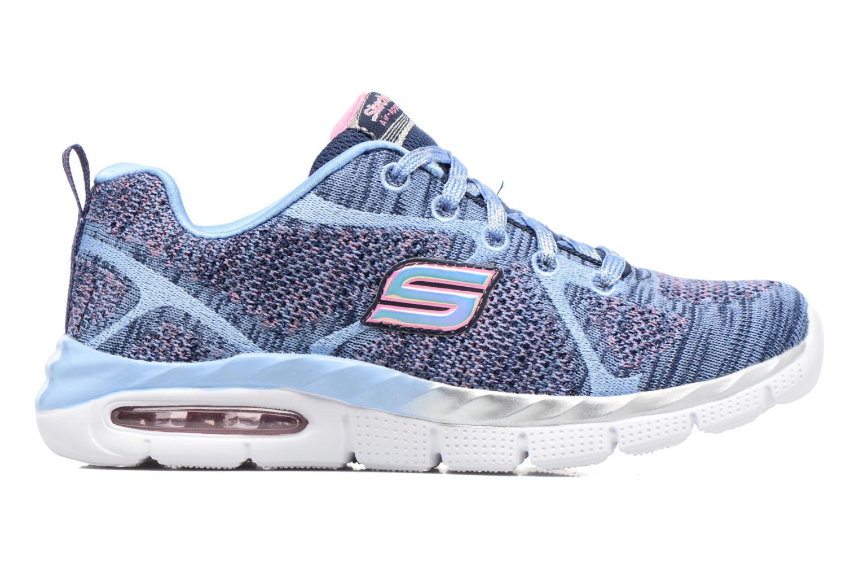 Sneaker Skechers Air-Appeal Glitztastic blau ansicht von hinten