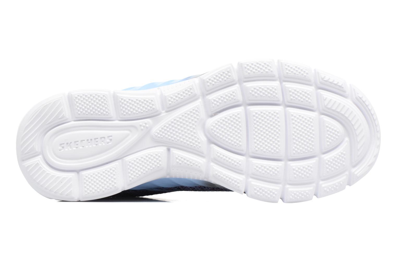 Sneaker Skechers Air-Appeal Glitztastic blau ansicht von oben
