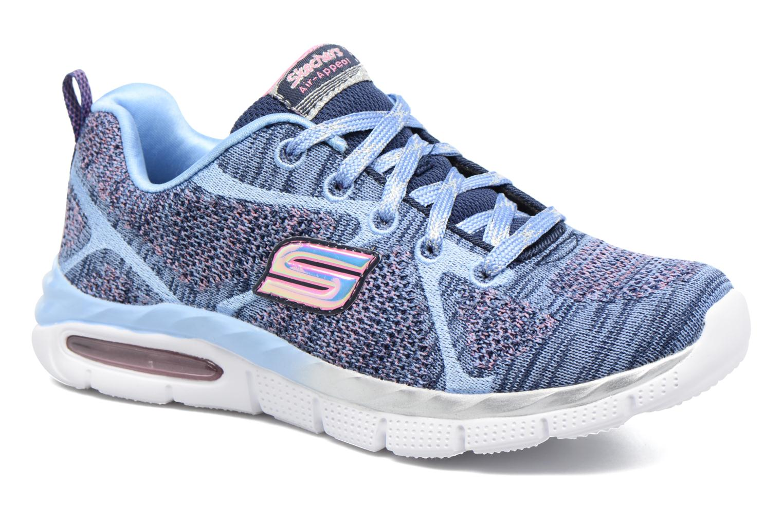 Sneaker Skechers Air-Appeal Glitztastic blau detaillierte ansicht/modell