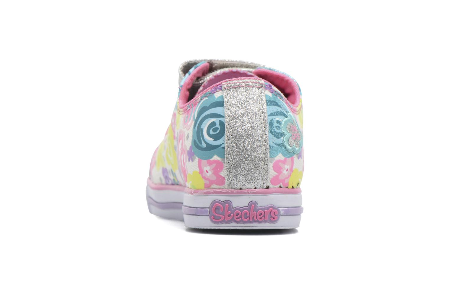 Baskets Skechers TwinkleChit Chat Glamour Glore Multicolore vue droite