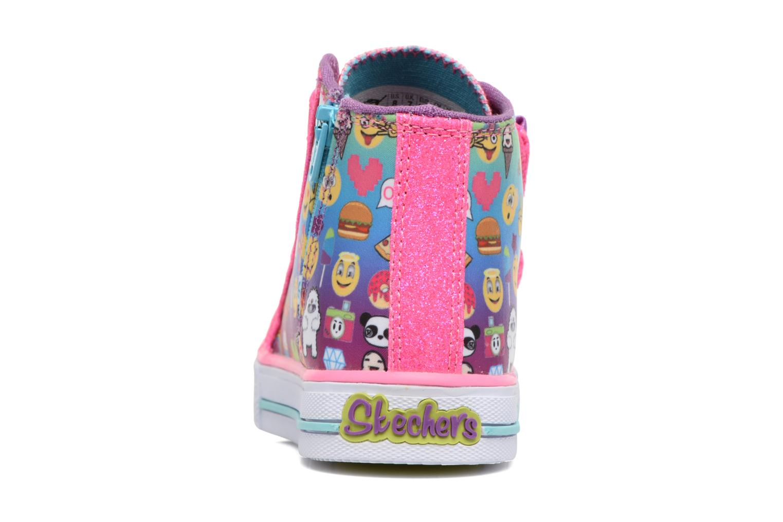 Sneakers Skechers Shuffles Baby Talk Multicolore immagine destra