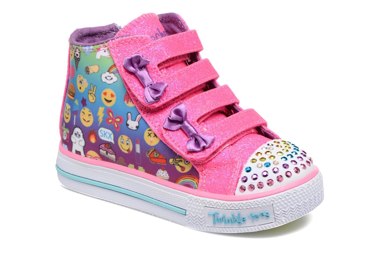 Baskets Skechers Shuffles Baby Talk Multicolore vue détail/paire