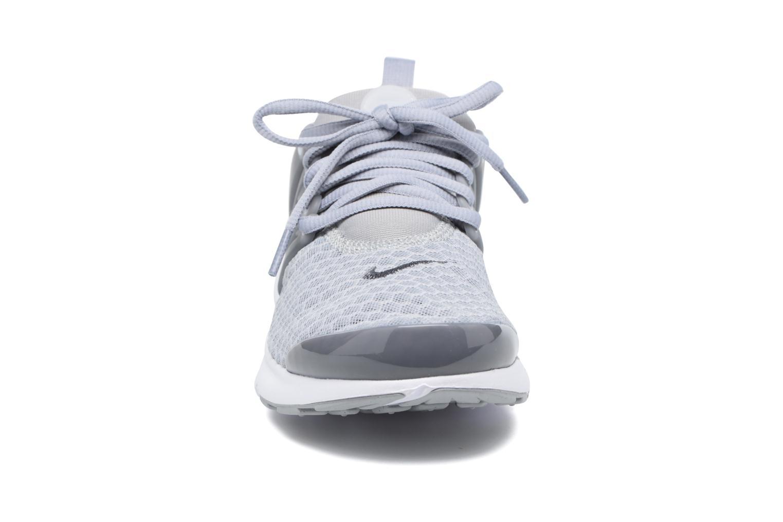 Sneaker Nike Nike Presto Br (Gs) grau schuhe getragen