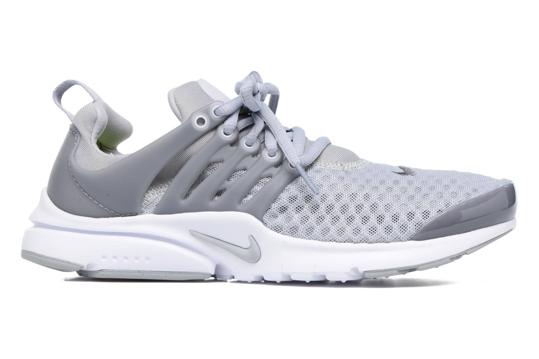 Sneaker Nike Nike Presto Br (Gs) grau ansicht von hinten