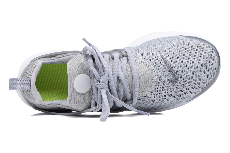 Sneaker Nike Nike Presto Br (Gs) grau ansicht von links