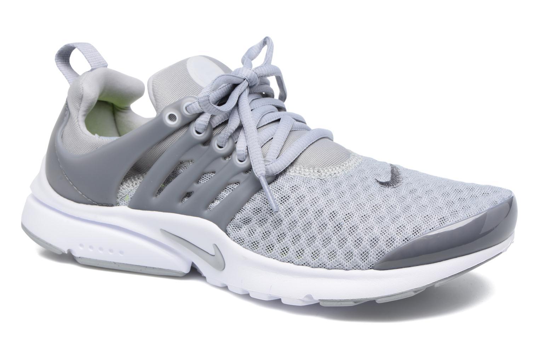 Nike Presto Br (Gs) Wolf Grey/Cool Grey-White-Volt