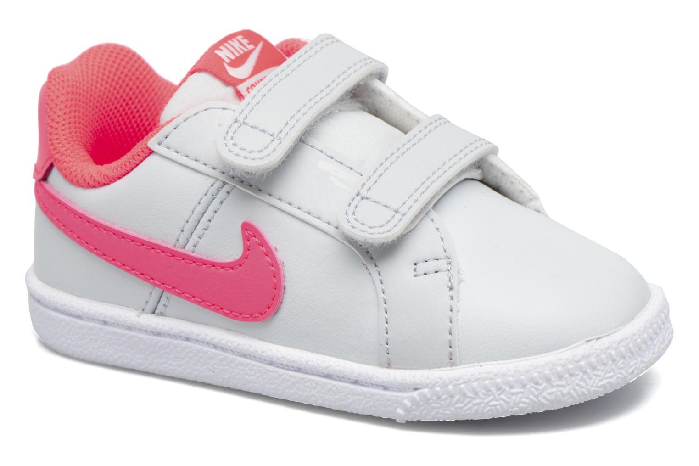 Nike Court Royale (Tdv) Pure Platinum/Hot Punch-White