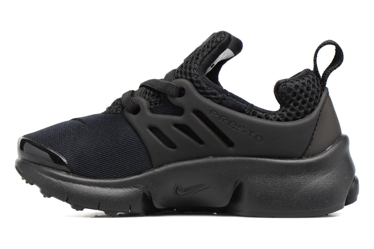 Baskets Nike Nike Little Presto (Td) Noir vue face