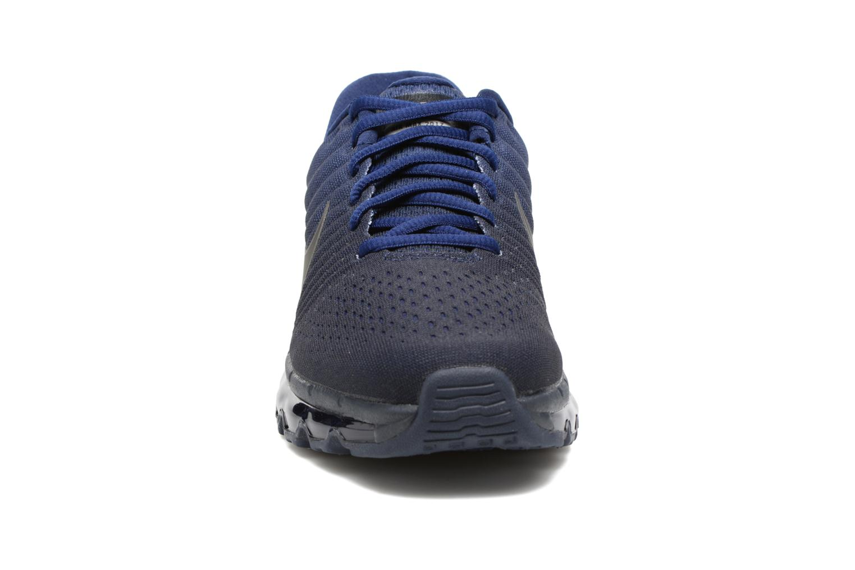 Baskets Nike Nike Air Max 2017 (Gs) Bleu vue portées chaussures