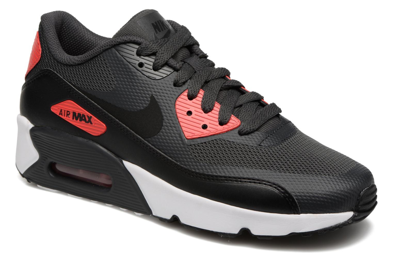 Baskets Nike Air Max 90 Ultra 2.0 (Gs) Gris vue détail/paire