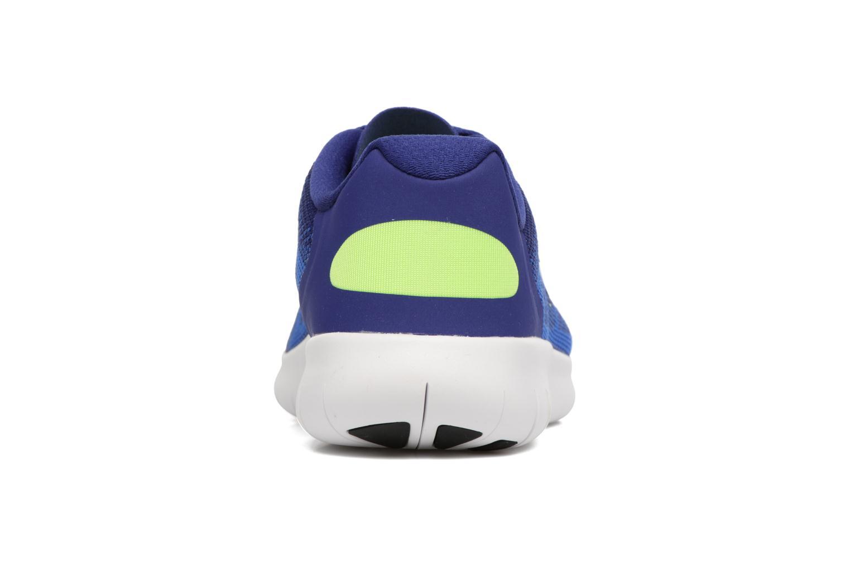 Baskets Nike Nike Free Rn 2 (Gs) Bleu vue droite