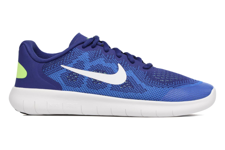 Baskets Nike Nike Free Rn 2 (Gs) Bleu vue derrière