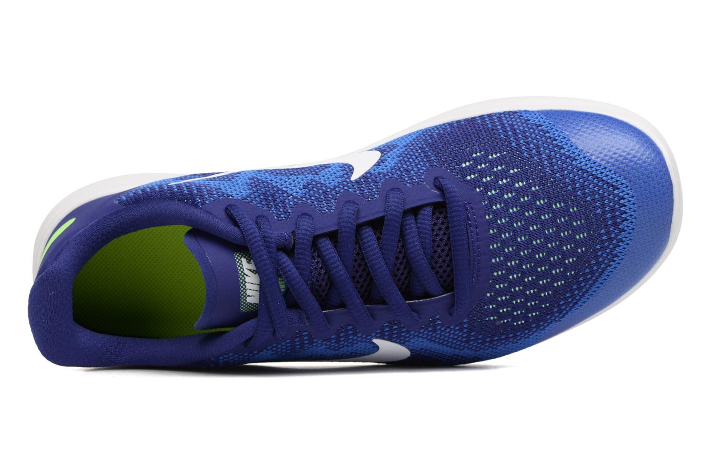 Nike Free Rn 2 (Gs) Deep Royal Blue/White-Soar-Ghost Green