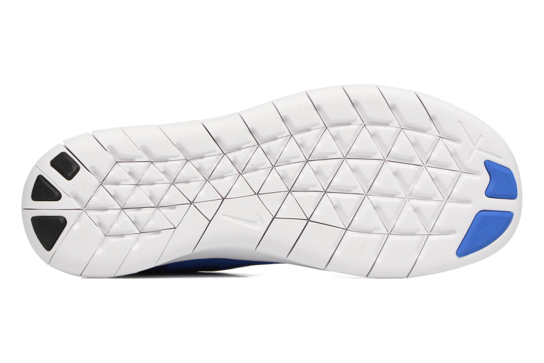 Baskets Nike Nike Free Rn 2 (Gs) Bleu vue haut