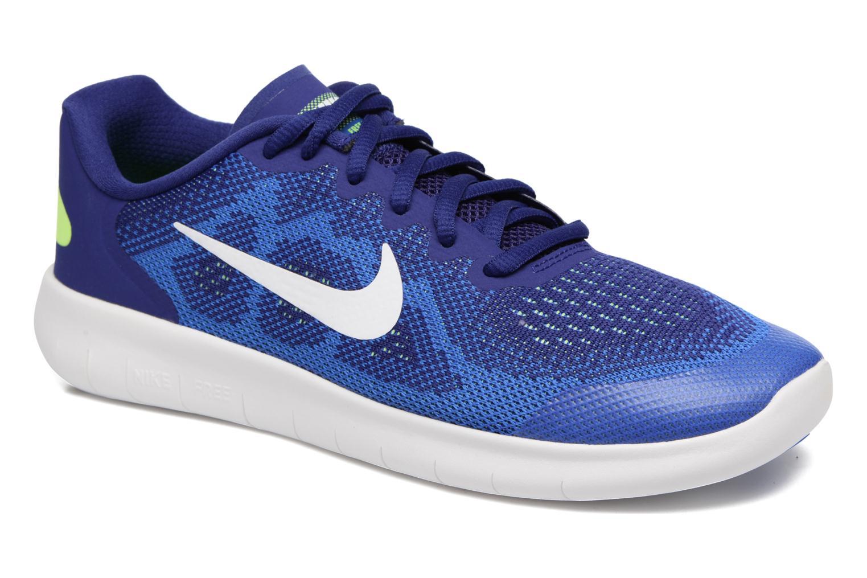 Baskets Nike Nike Free Rn 2 (Gs) Bleu vue détail/paire