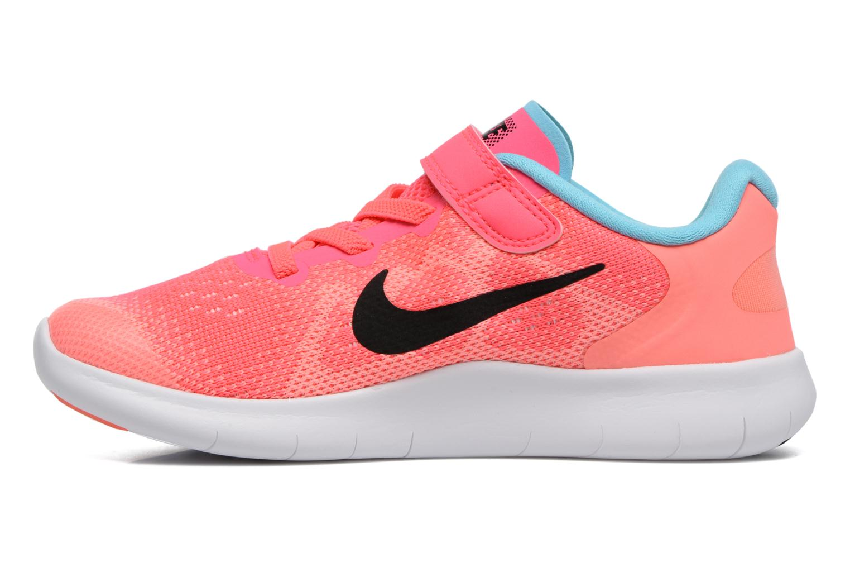 Baskets Nike Nike Free Rn 2 (Psv) Rose vue face