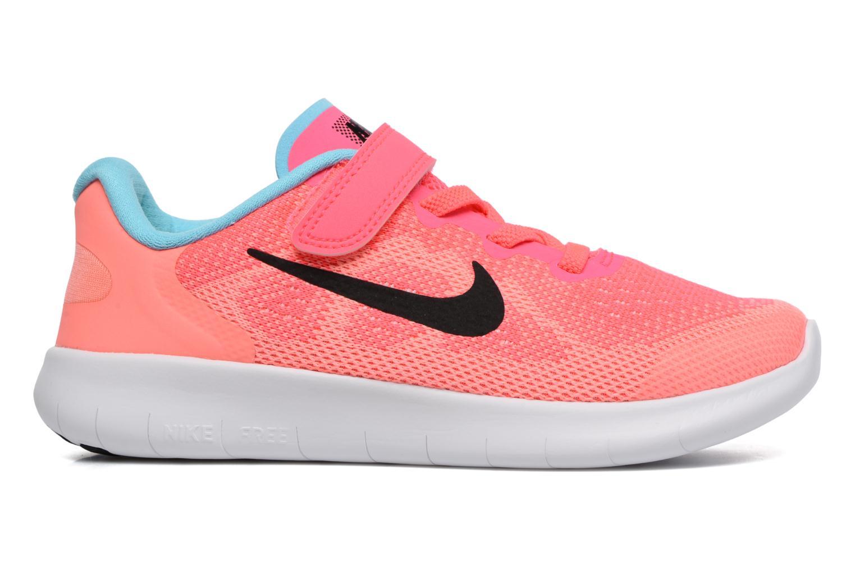 Baskets Nike Nike Free Rn 2 (Psv) Rose vue derrière