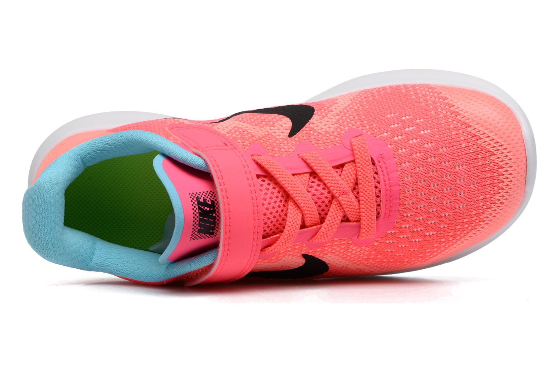 Baskets Nike Nike Free Rn 2 (Psv) Rose vue gauche