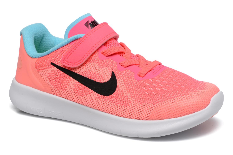 Baskets Nike Nike Free Rn 2 (Psv) Rose vue détail/paire