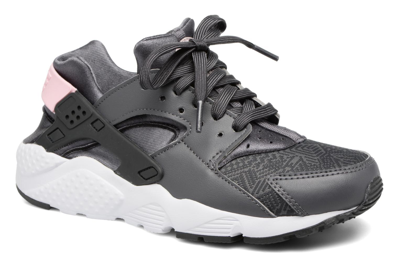 Baskets Nike Nike Huarache Run Se (Gs) Gris vue détail/paire