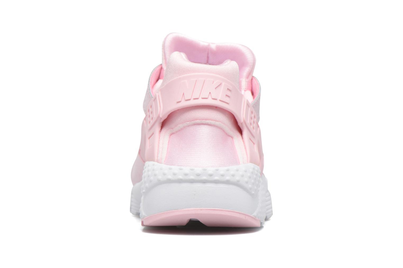 Baskets Nike Nike Huarache Run Se (Gs) Rose vue droite