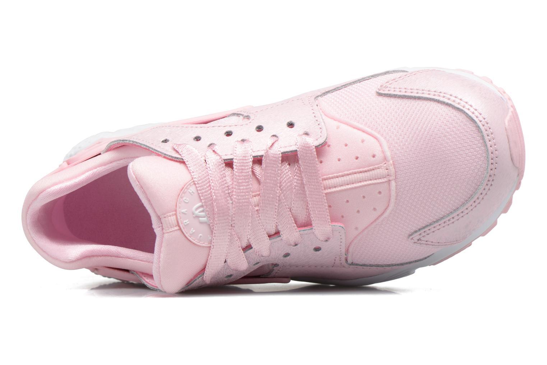 Baskets Nike Nike Huarache Run Se (Gs) Rose vue gauche