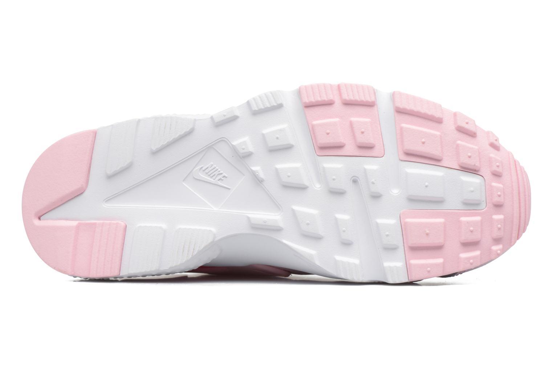Baskets Nike Nike Huarache Run Se (Gs) Rose vue haut