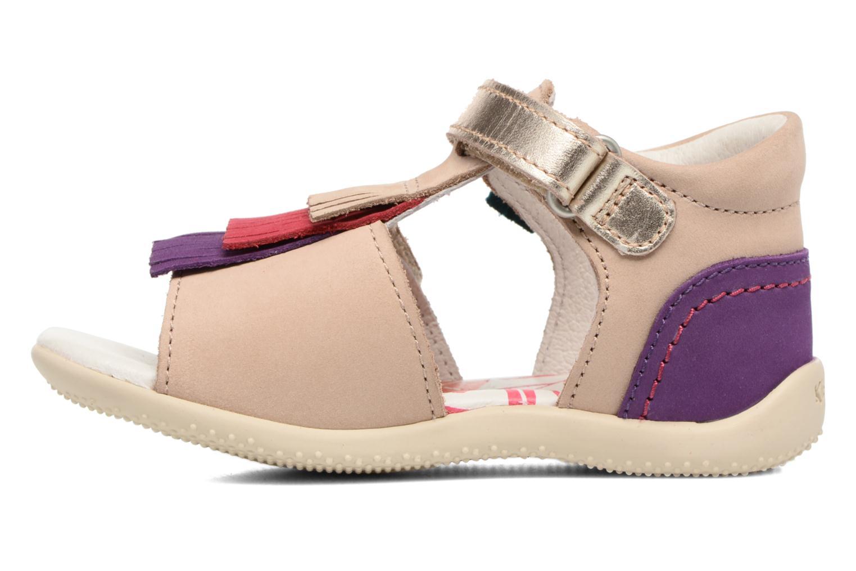 Sandalen Kickers Bihilana Beige voorkant